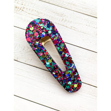 Load image into Gallery viewer, Party Smash Glitter Clips - Oval Point - Clip
