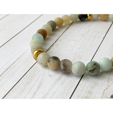 Load image into Gallery viewer, Reflection Stone Bracelet - Gold Arrow Studios