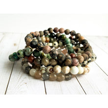 Load image into Gallery viewer, Sahara Stone Bracelet Set - Stone Bracelet Set