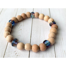 Load image into Gallery viewer, Saturn Diffuser Bracelet - Essential Oil Bracelet