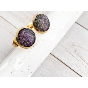 Solar Flare Studs - Gold Arrow Studios