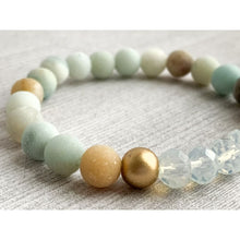 Load image into Gallery viewer, Soothing Stone Bracelet - Gold Arrow Studios