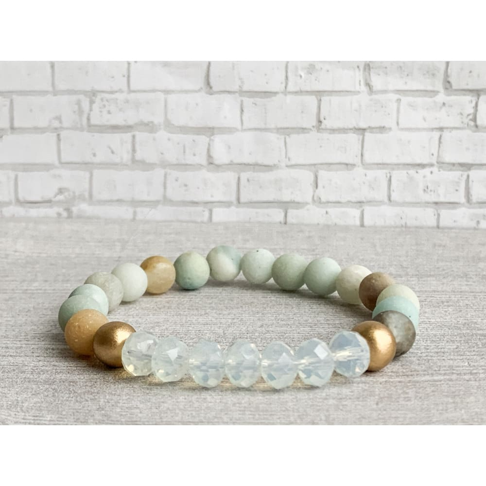 Soothing Stone Bracelet - Gold Arrow Studios