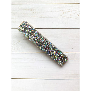 Space Mission Glitter Clips - Bar - Clip