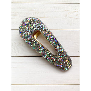 Space Mission Glitter Clips - Oval Point - Clip