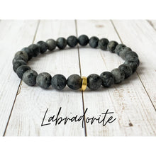 Load image into Gallery viewer, Tiny Gemstone Bracelets - Labradorite - Bracelet