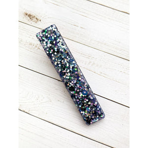 Wish Upon A Star Glitter Clip - Bar - Clip