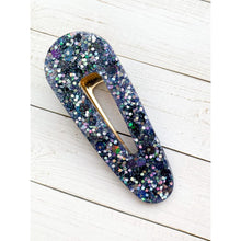 Load image into Gallery viewer, Wish Upon A Star Glitter Clip - Oval Point - Clip