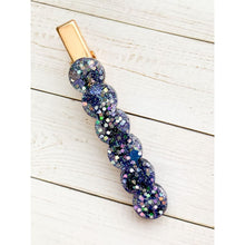 Load image into Gallery viewer, Wish Upon A Star Glitter Clip - Scallop - Clip
