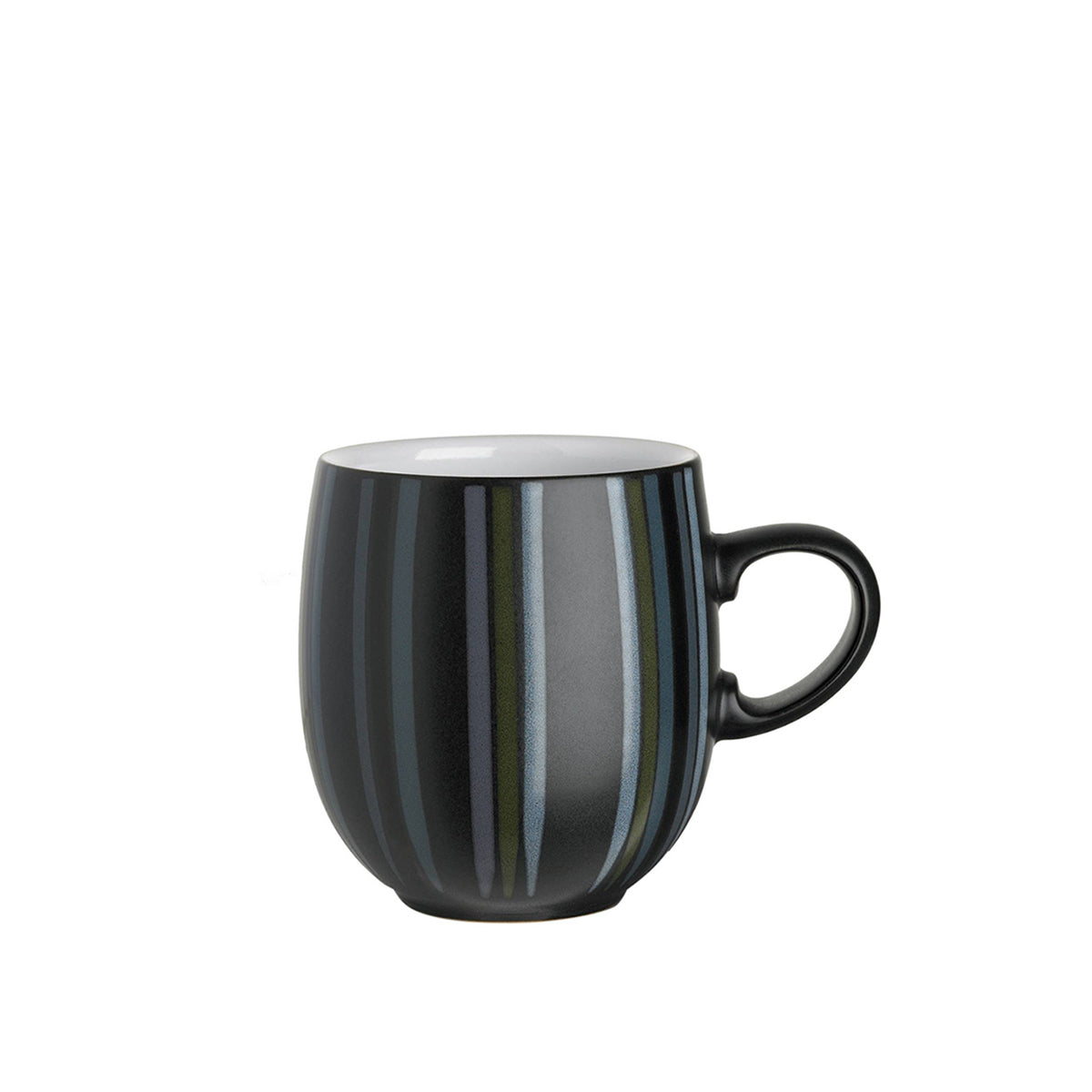 Large Curve Mug Jet Stripes