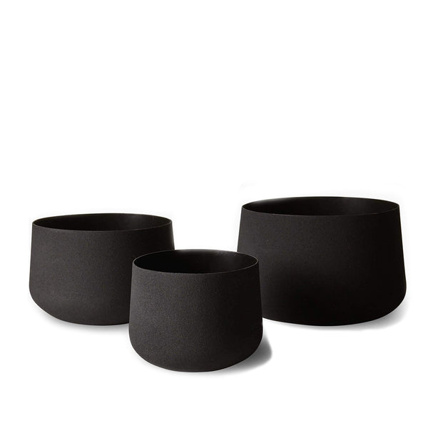 Mona Pot Trio Black