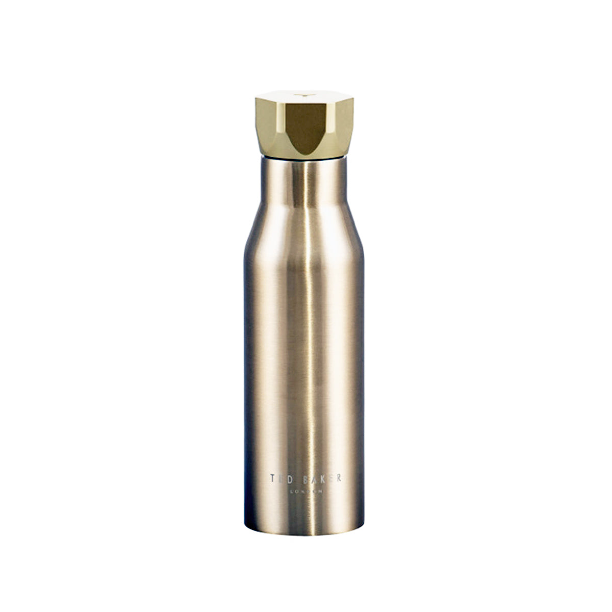 Hex Water Bottle Gold