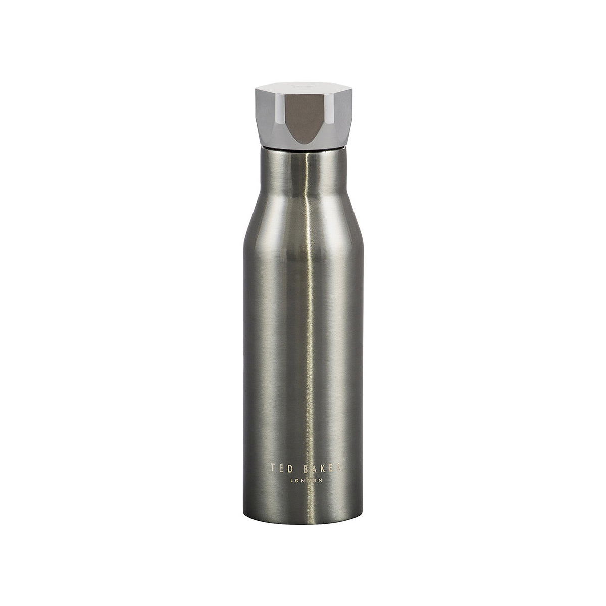 Hex Water Bottle Gunmetal