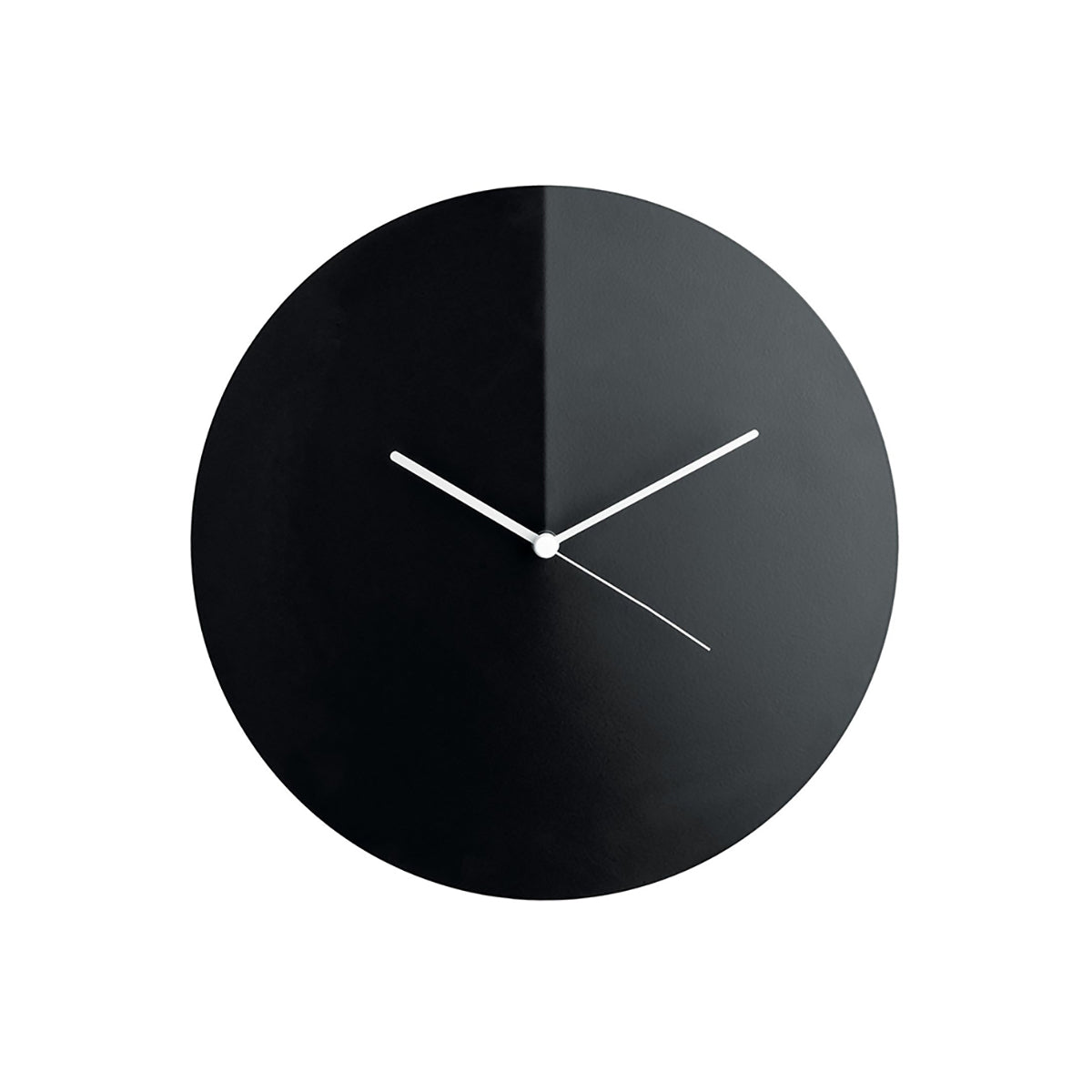Arris Wall Clock Black