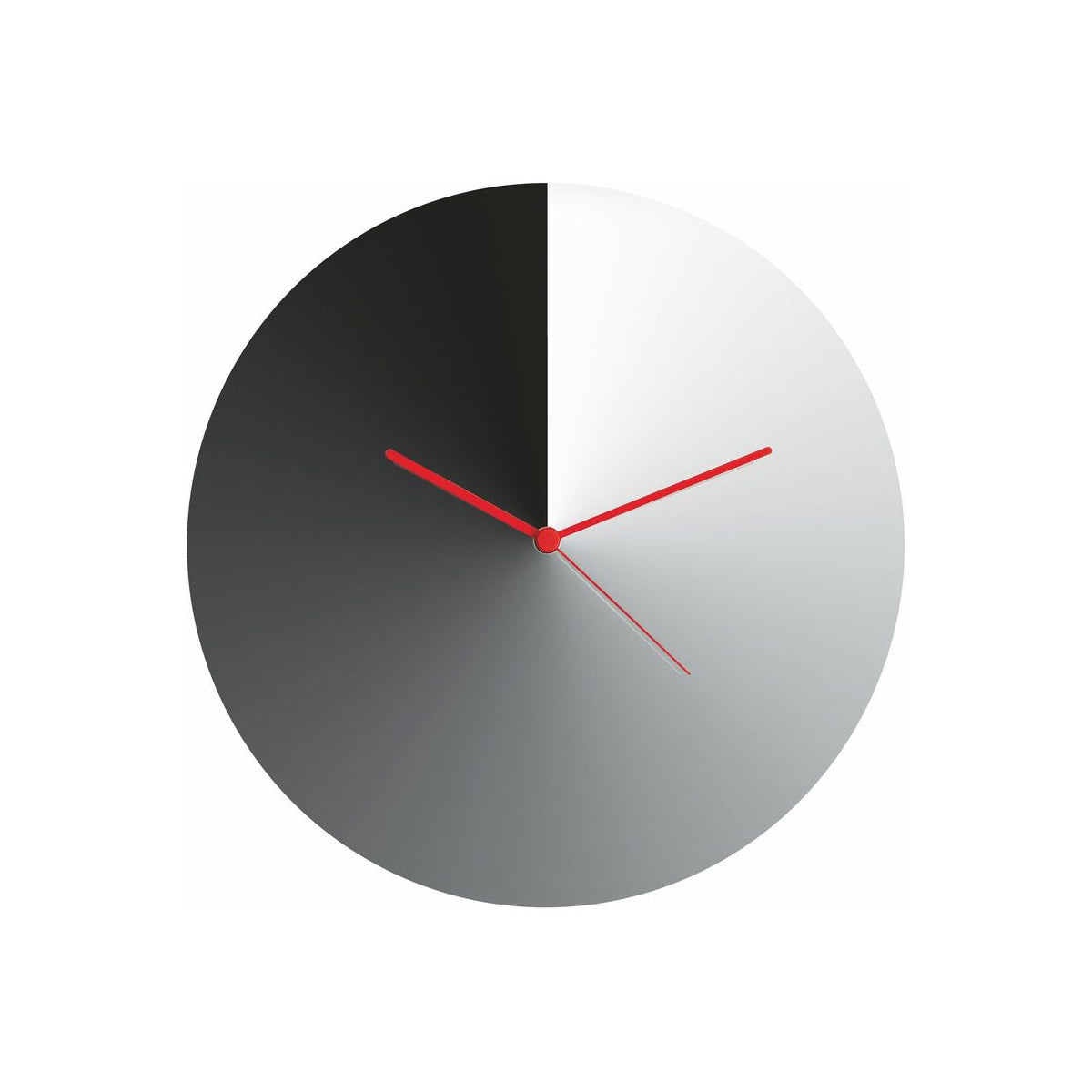 Arris Wall Clock Stainless Steel