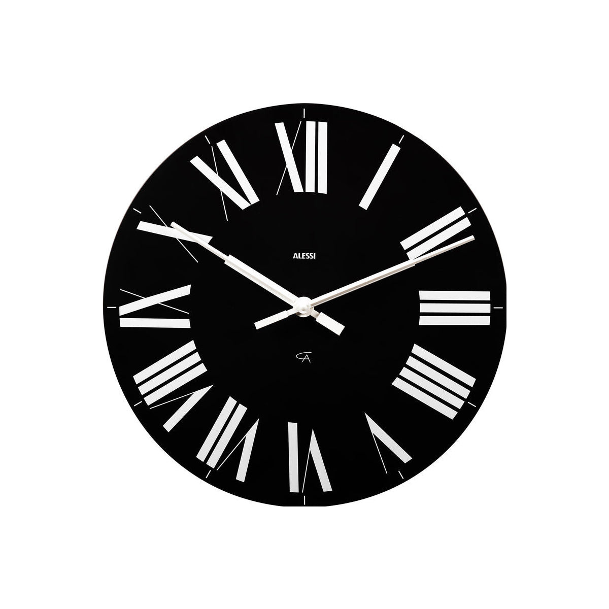 Firenze Wall Clock Black