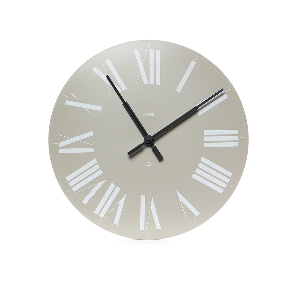 Firenze Wall Clock Grey