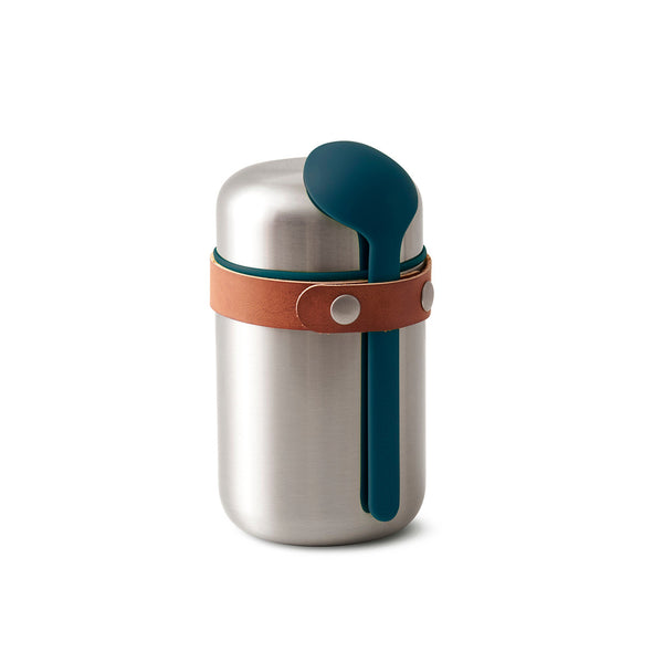 Food Flask Blue