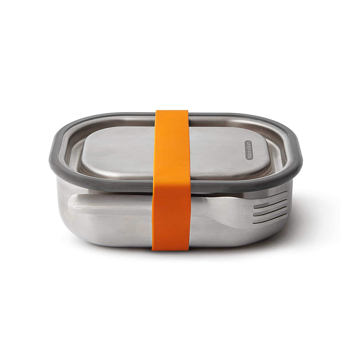 Stainless Steel Lunch Box Orange