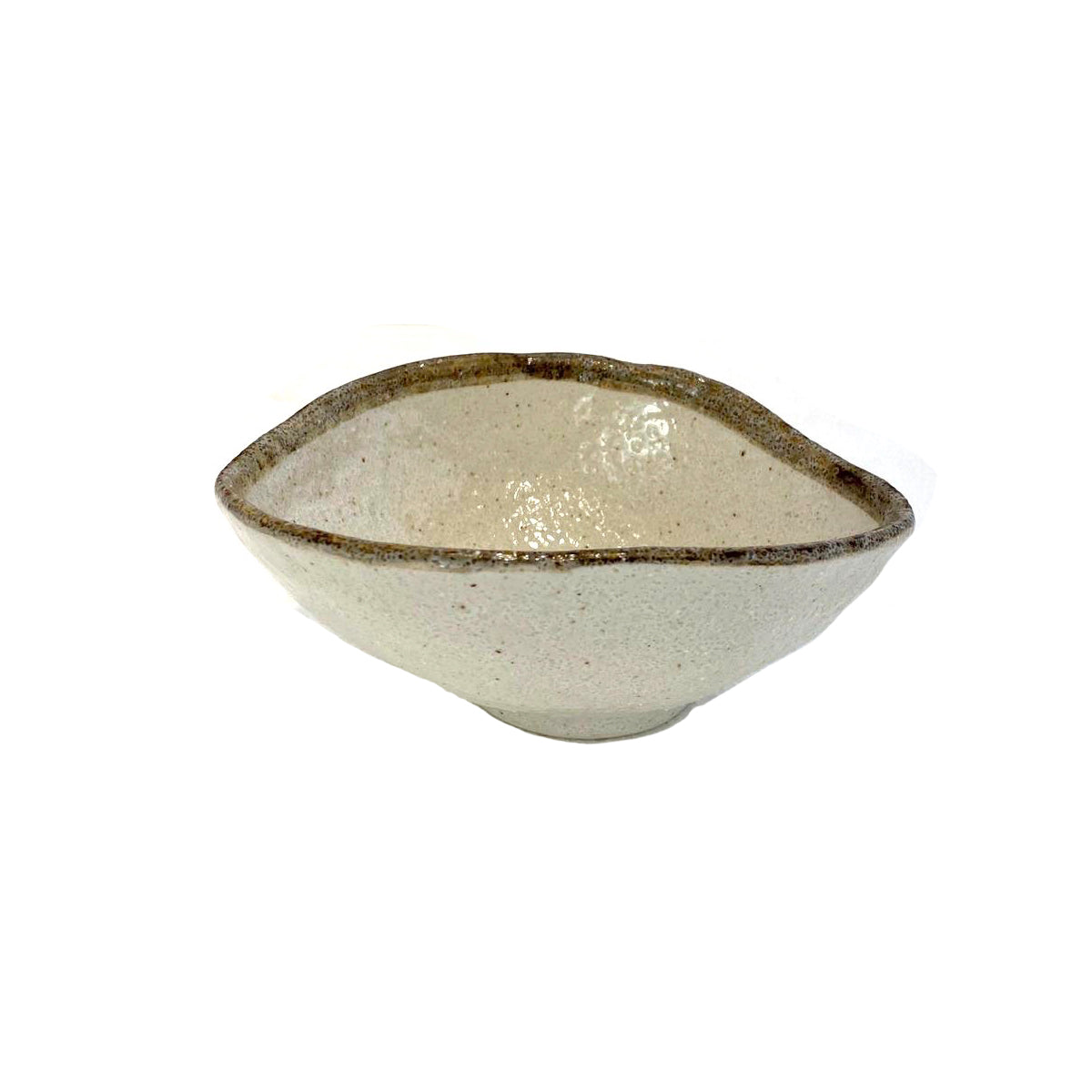Shirokaratsu Oval Bowl Small