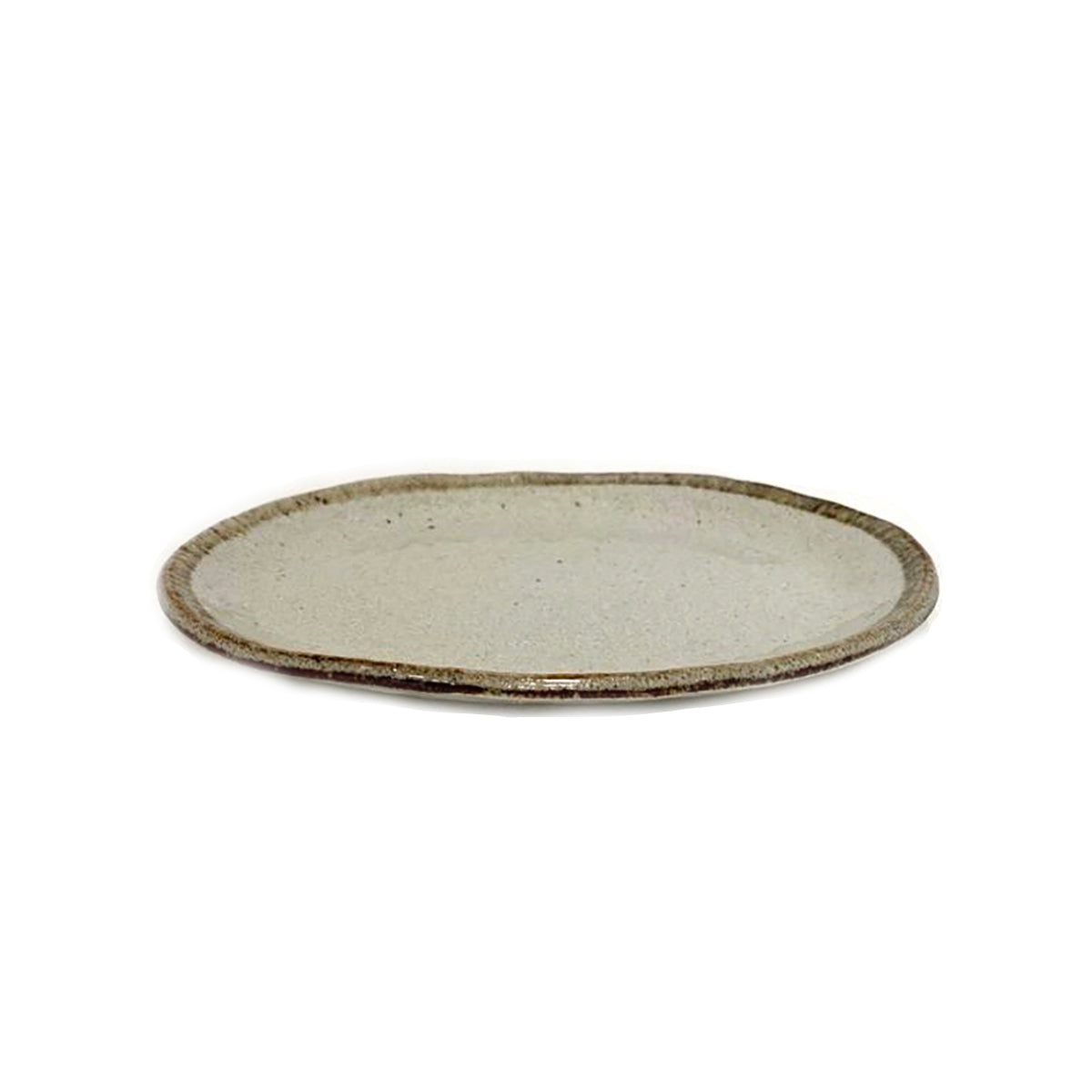 Shirokaratsu Oval Plate Large