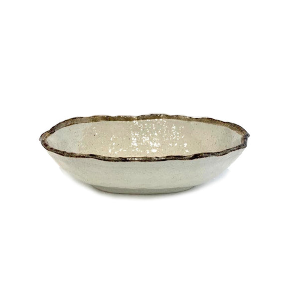 Shirokaratsu Oval Bowl Large