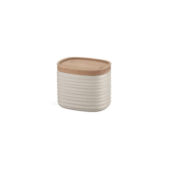 Earth Storage Jar Small White