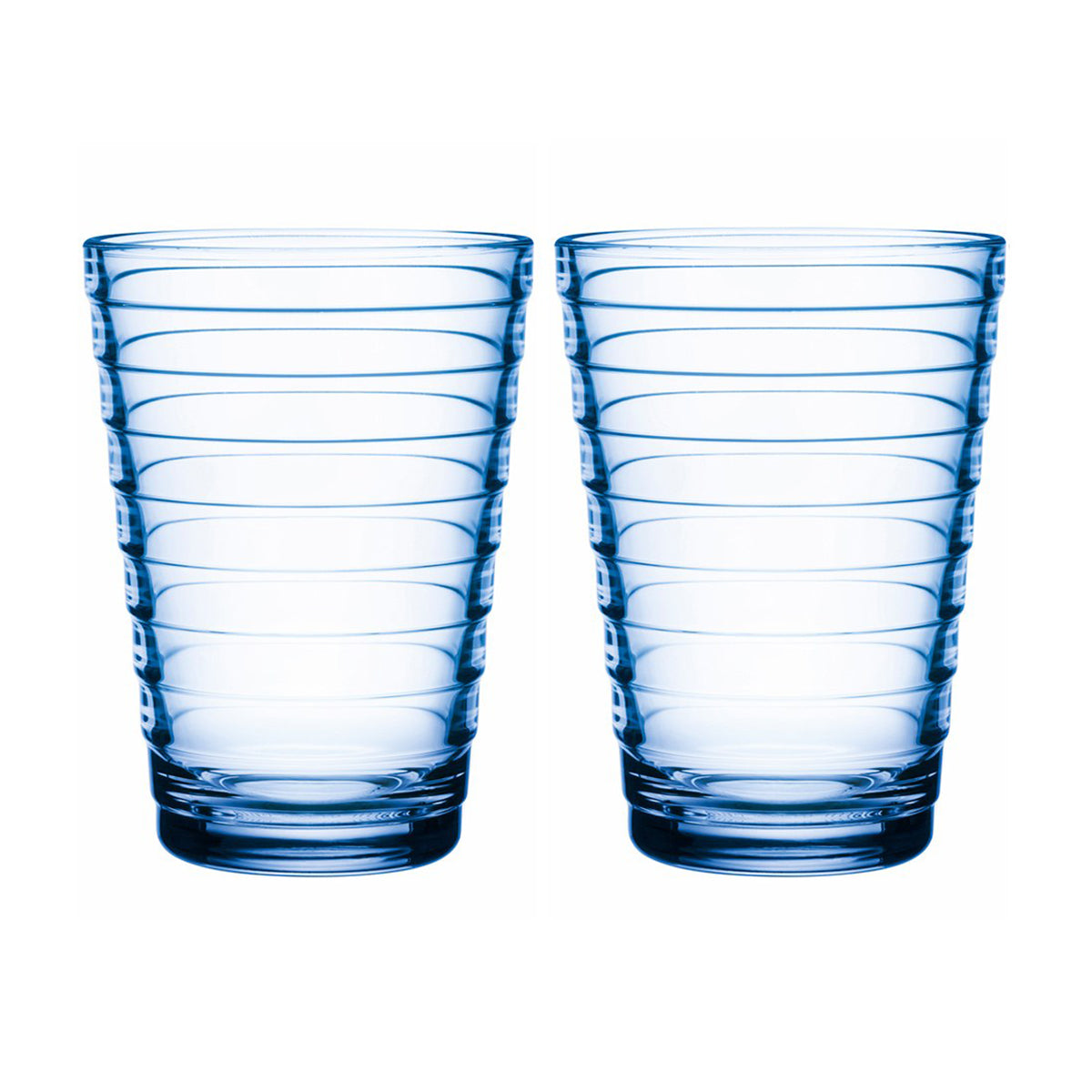 Aino Aalto Highball Tumblers Aqua 330ml / Set 2