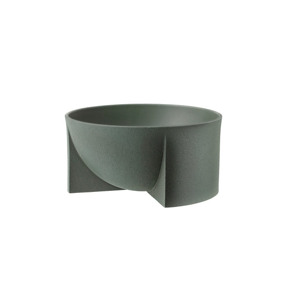 Kuru Ceramic Bowl 24cm Moss Green