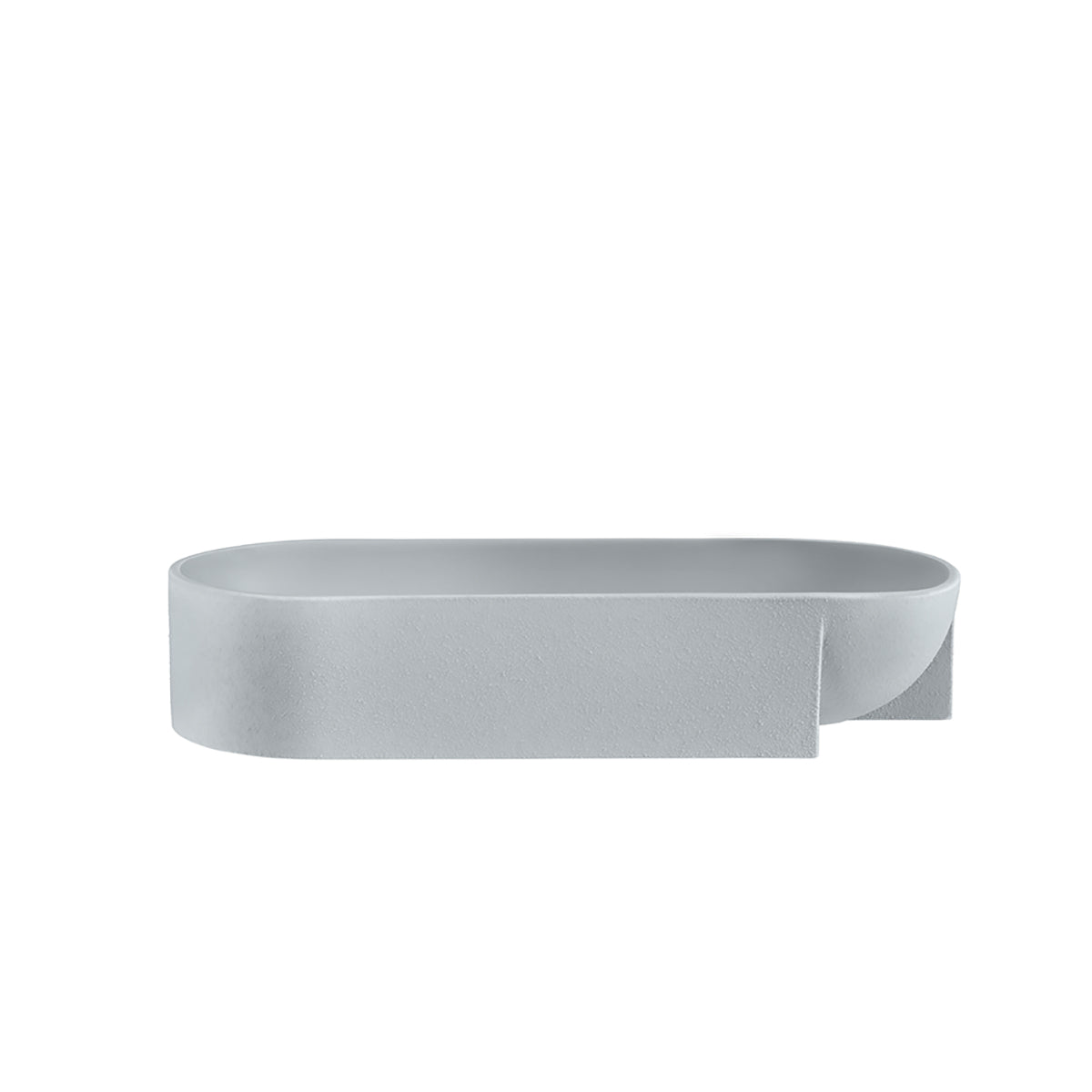 Kuru Ceramic Bowl 37cm Grey