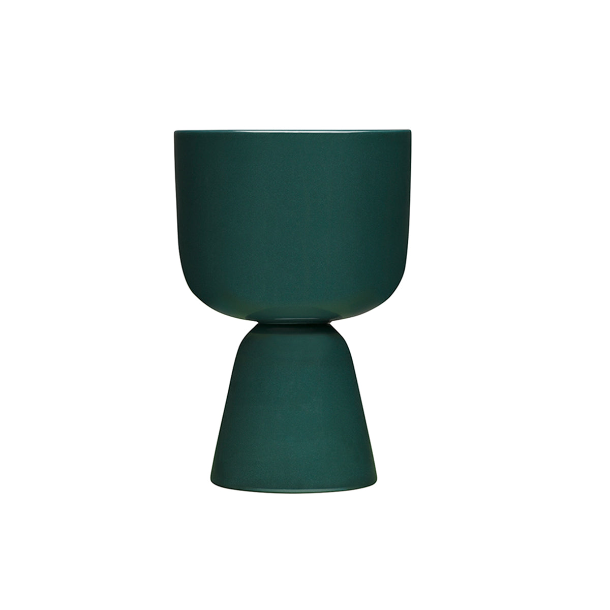 Nappula Plant Pot 23cm Dark Green