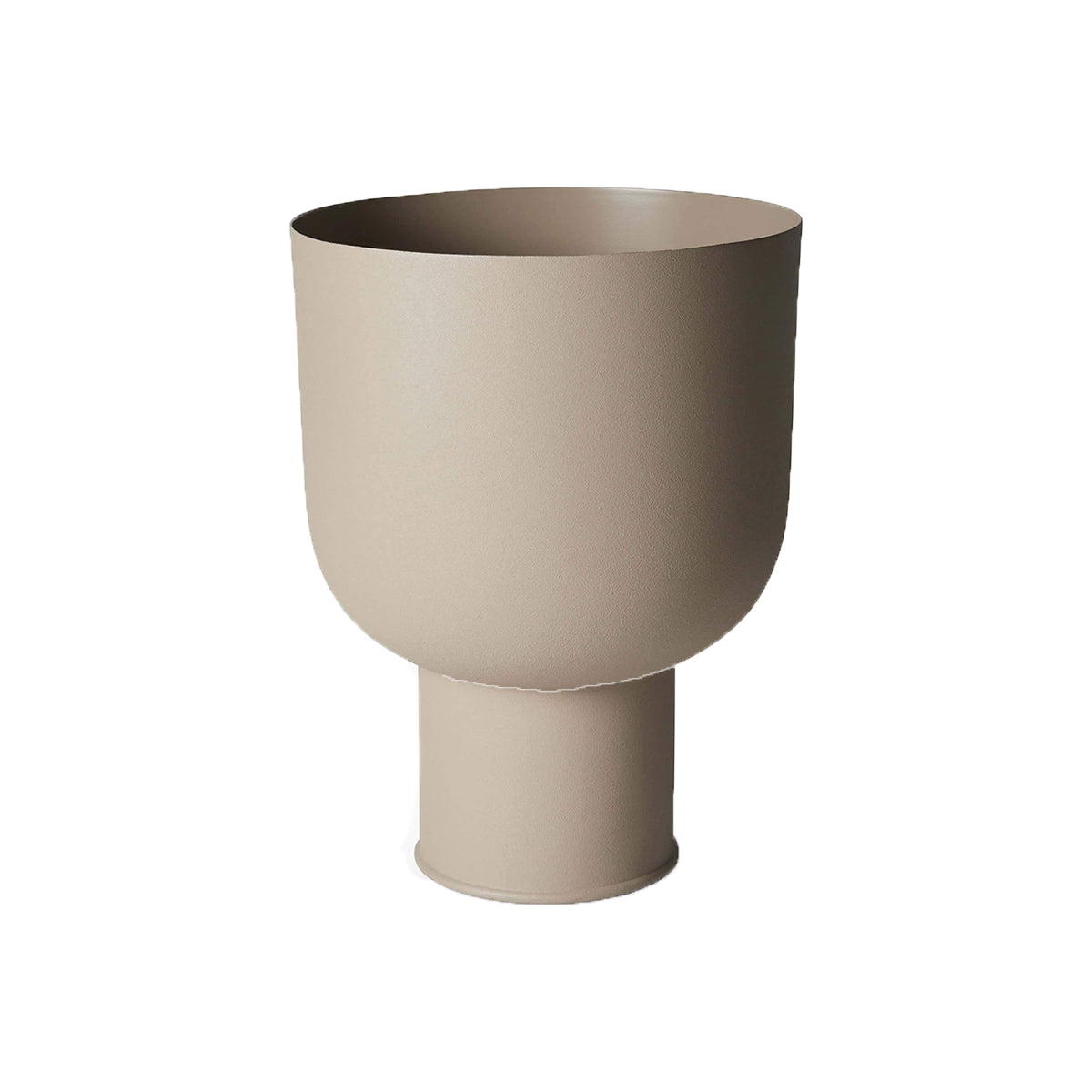 Mona Curve Planter Small Latte