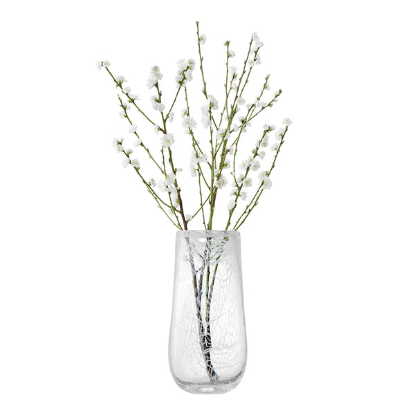 Cotton Vase White 38cm