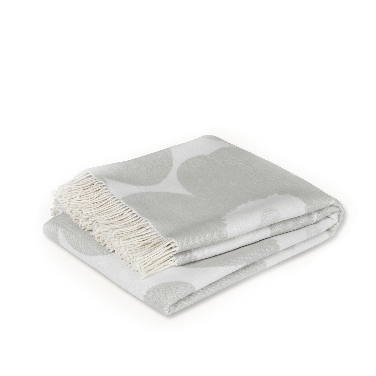 Unikko Blanket White / Light Grey