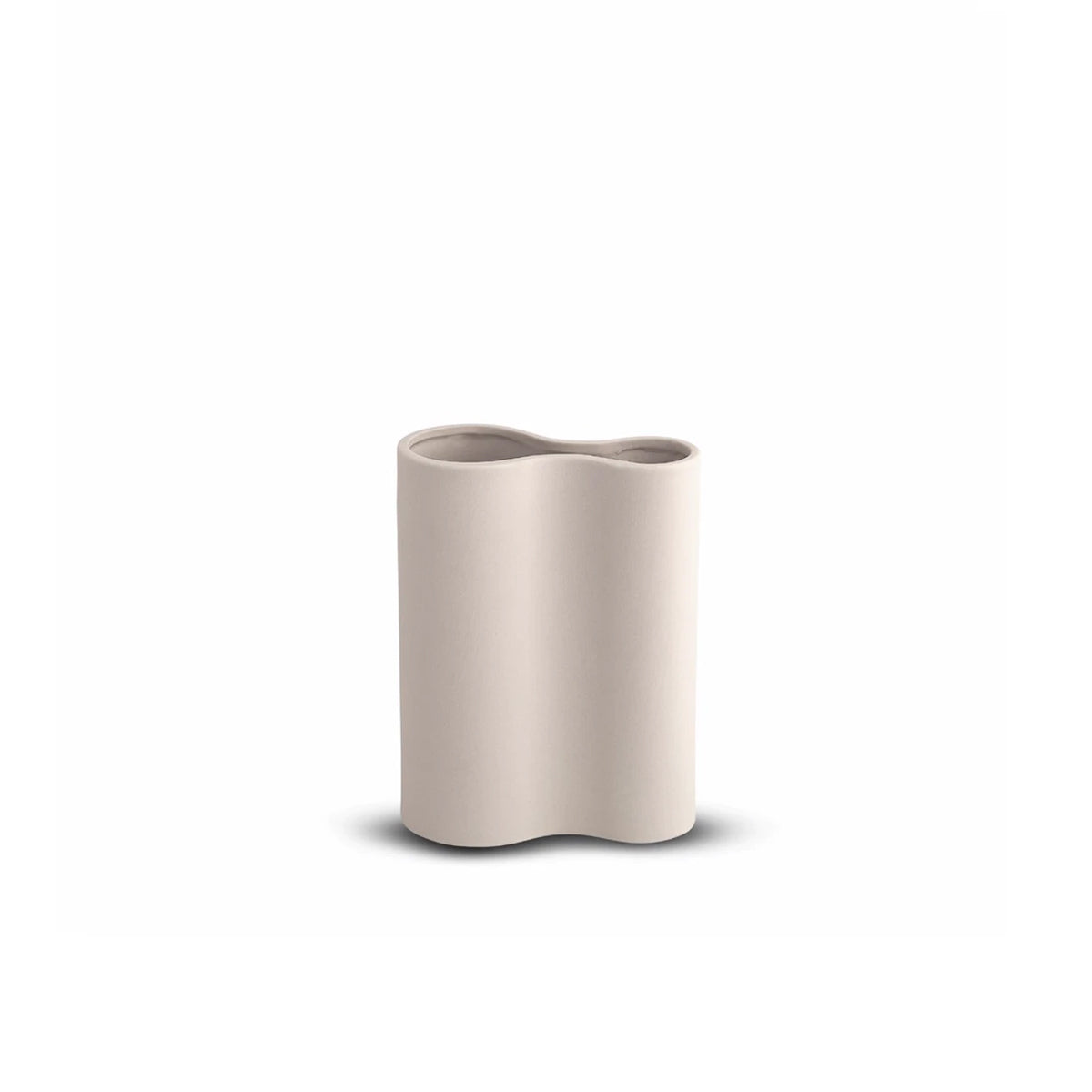 Smooth Infinity Vase Small Nude
