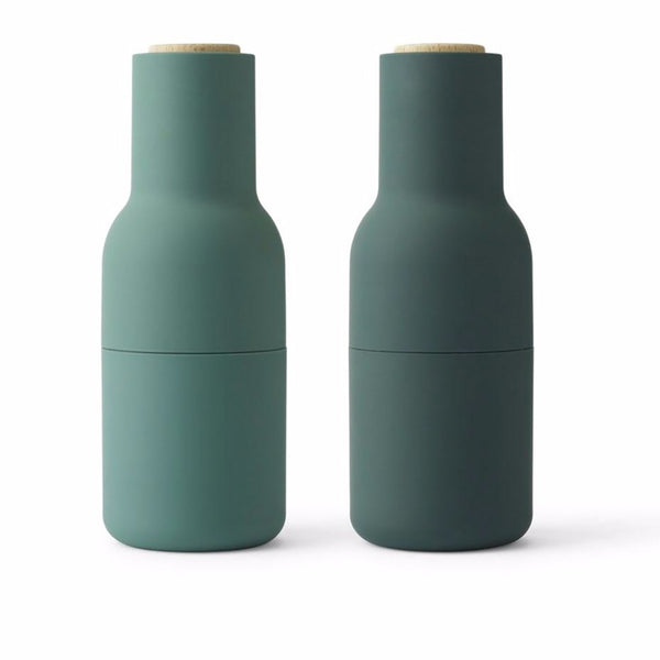 Bottle Grinder Dark Green / Set 2