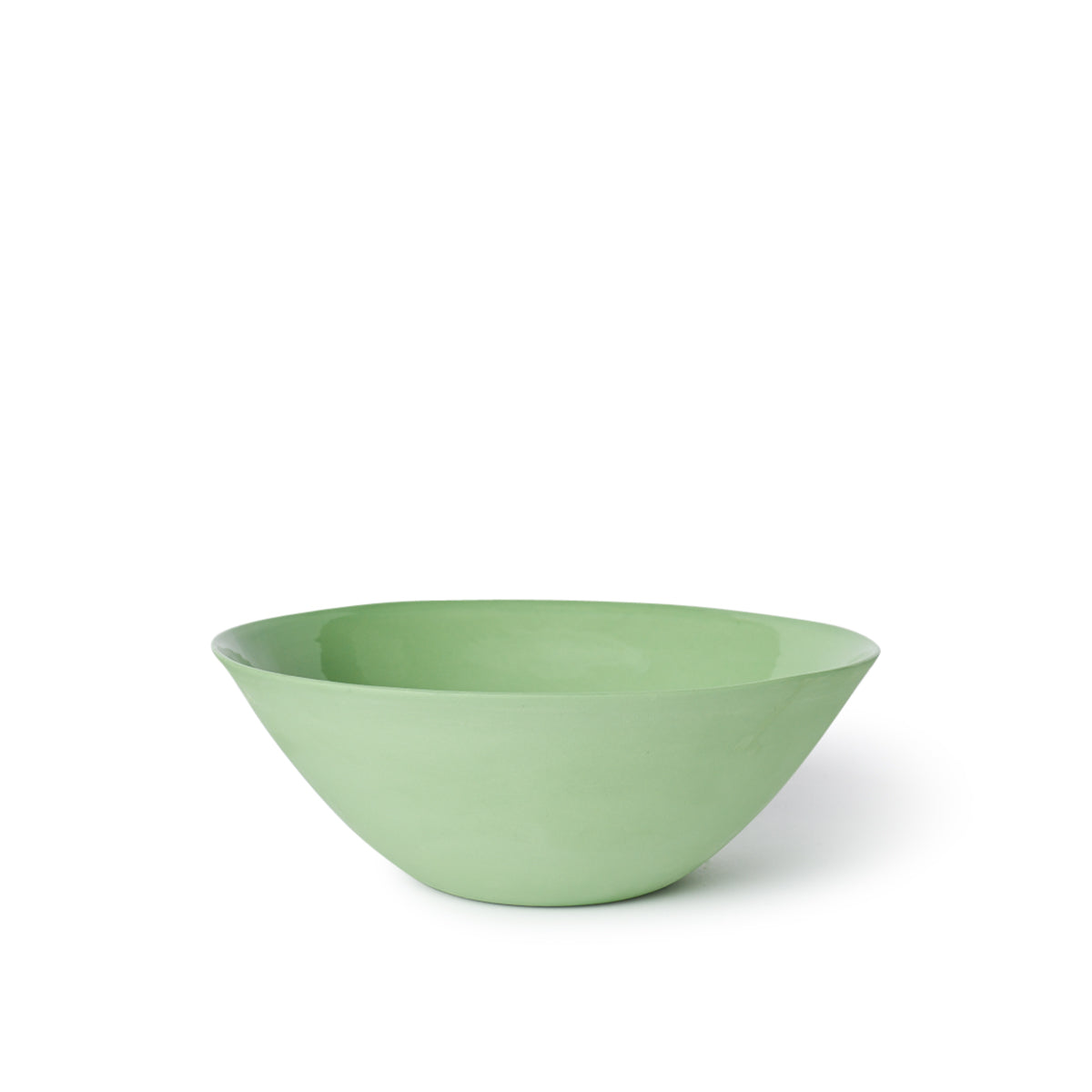 Flared Bowl Cereal Pistachio