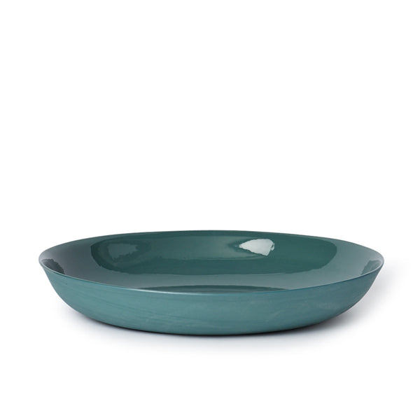 Pebble Bowl Large Bottle Green