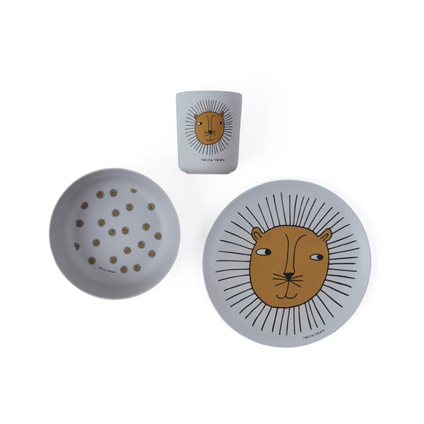 Lion Bamboo 3pce Set