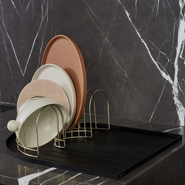 Dish Tray Black