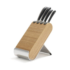 Signature Q Knife Block Set Ash