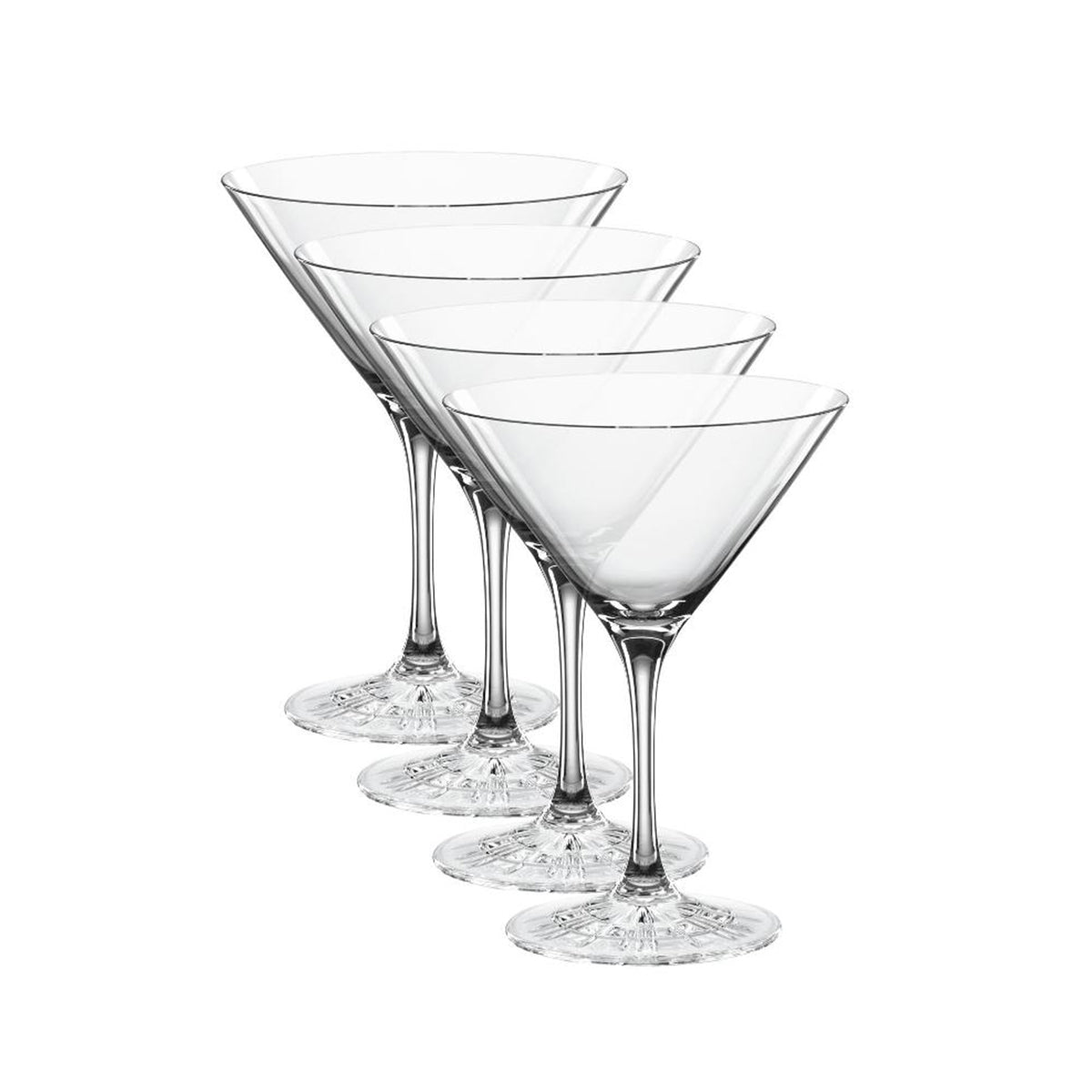 Perfect Serve Cocktail Glasses / Set 4