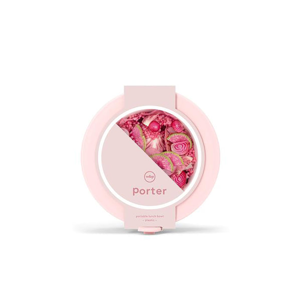 Porter Plastic Bowl Blush