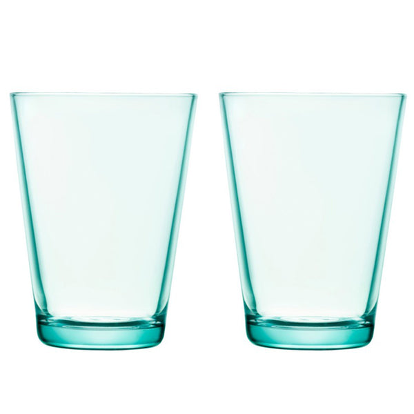 Kartio Highball Water Green Tumblers 400ml / Set 2