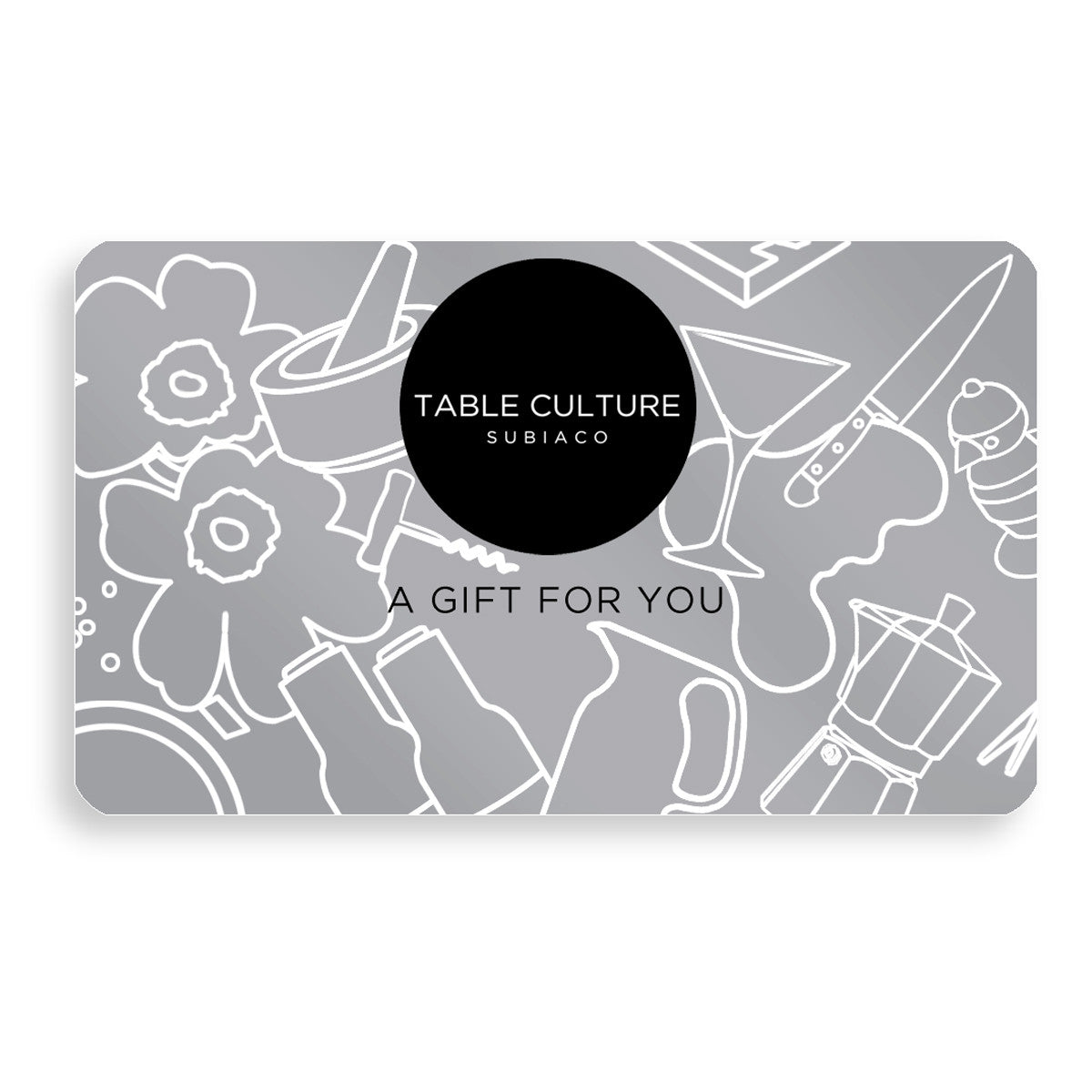 Table Culture Gift Card