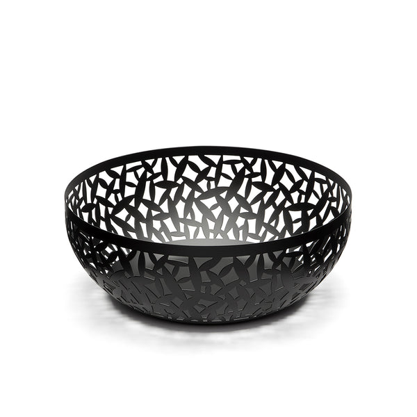 Cactus Fruit Bowl 29cm Black