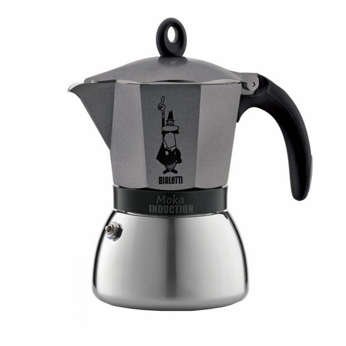 Moka Induction 6 Cup Coffee Maker