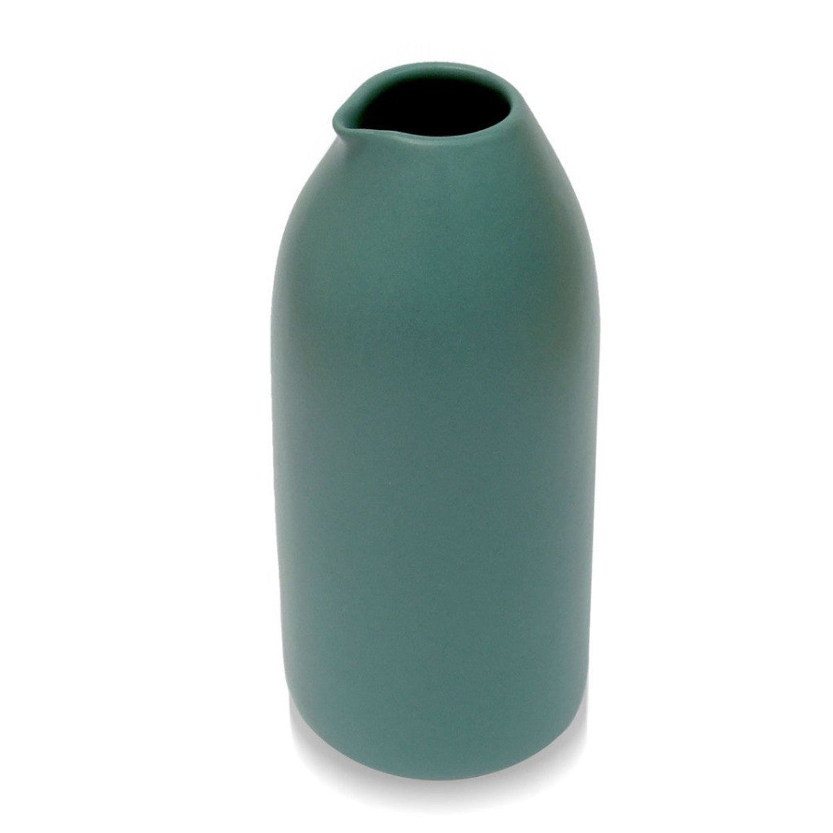 Milk Bottle Large Teal