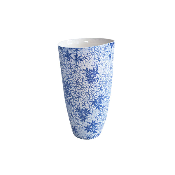 Floral Blue Jug Large 500ml