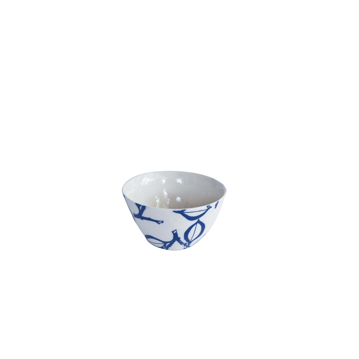 Floral Blue Small Bowl 50x80mm